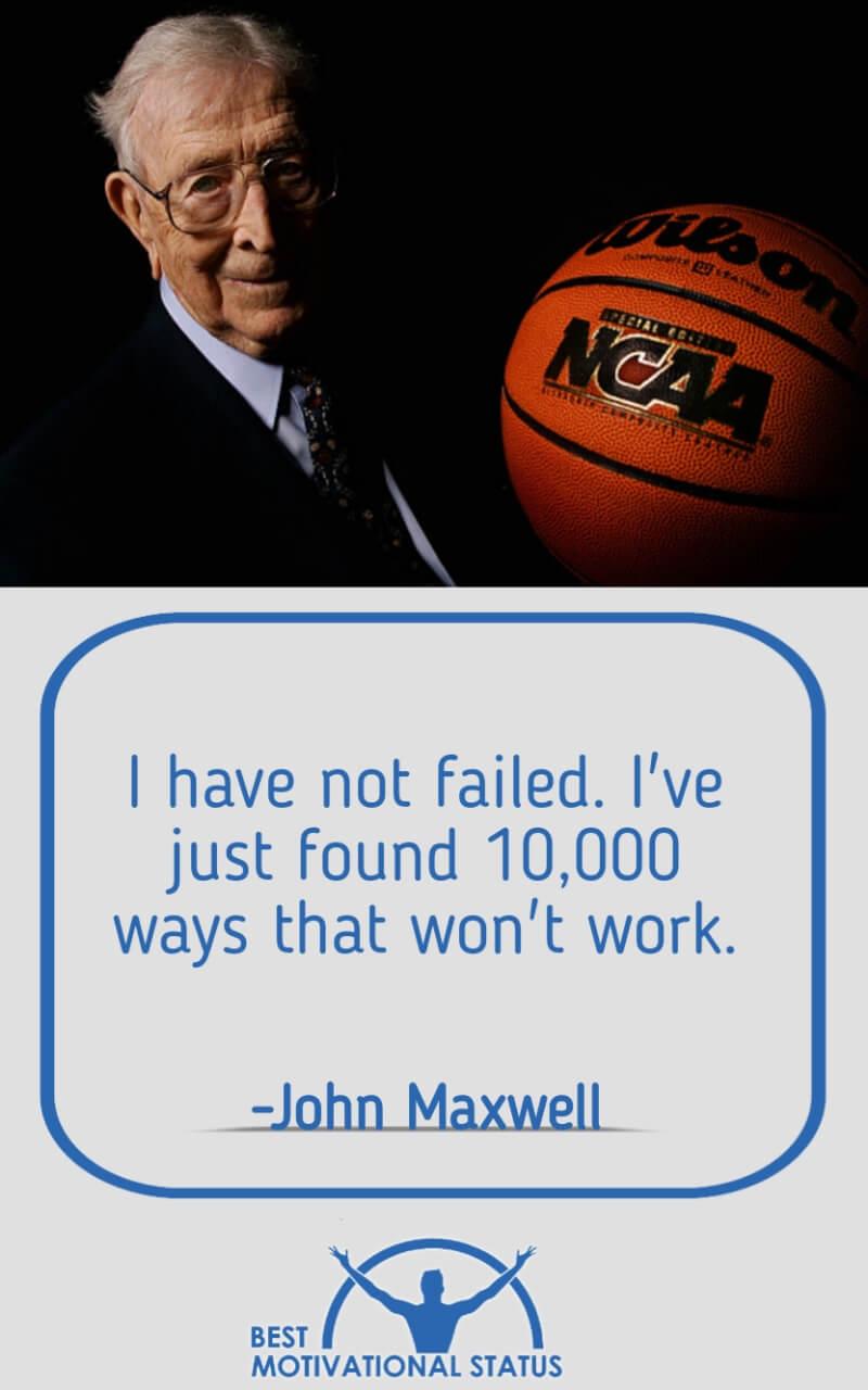 John Maxwell Motivational Status