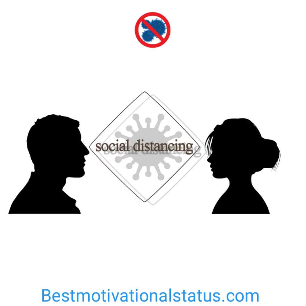 Social Distancing Coronavirus status