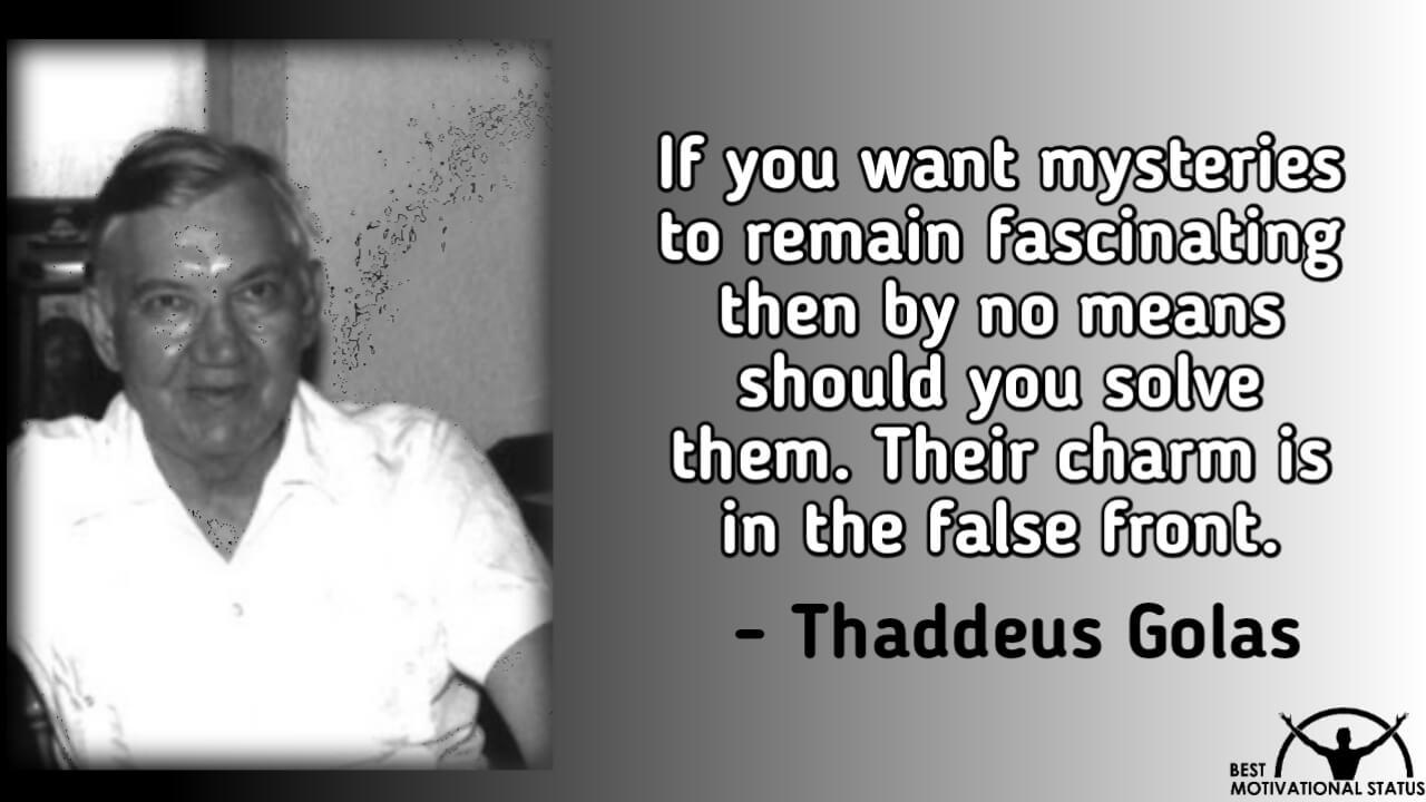 Enlightenment quotes by thaddeus golas
