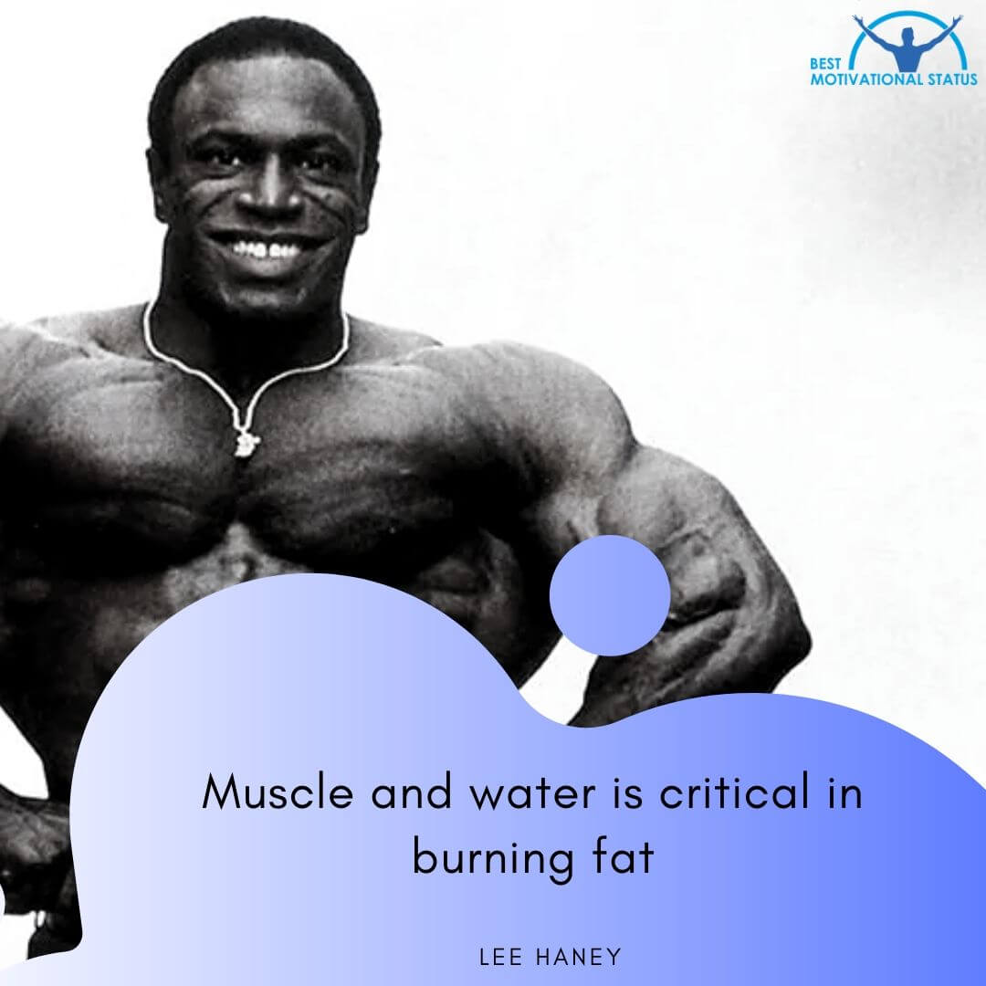 Gym Motivation quotes by Lee Haney