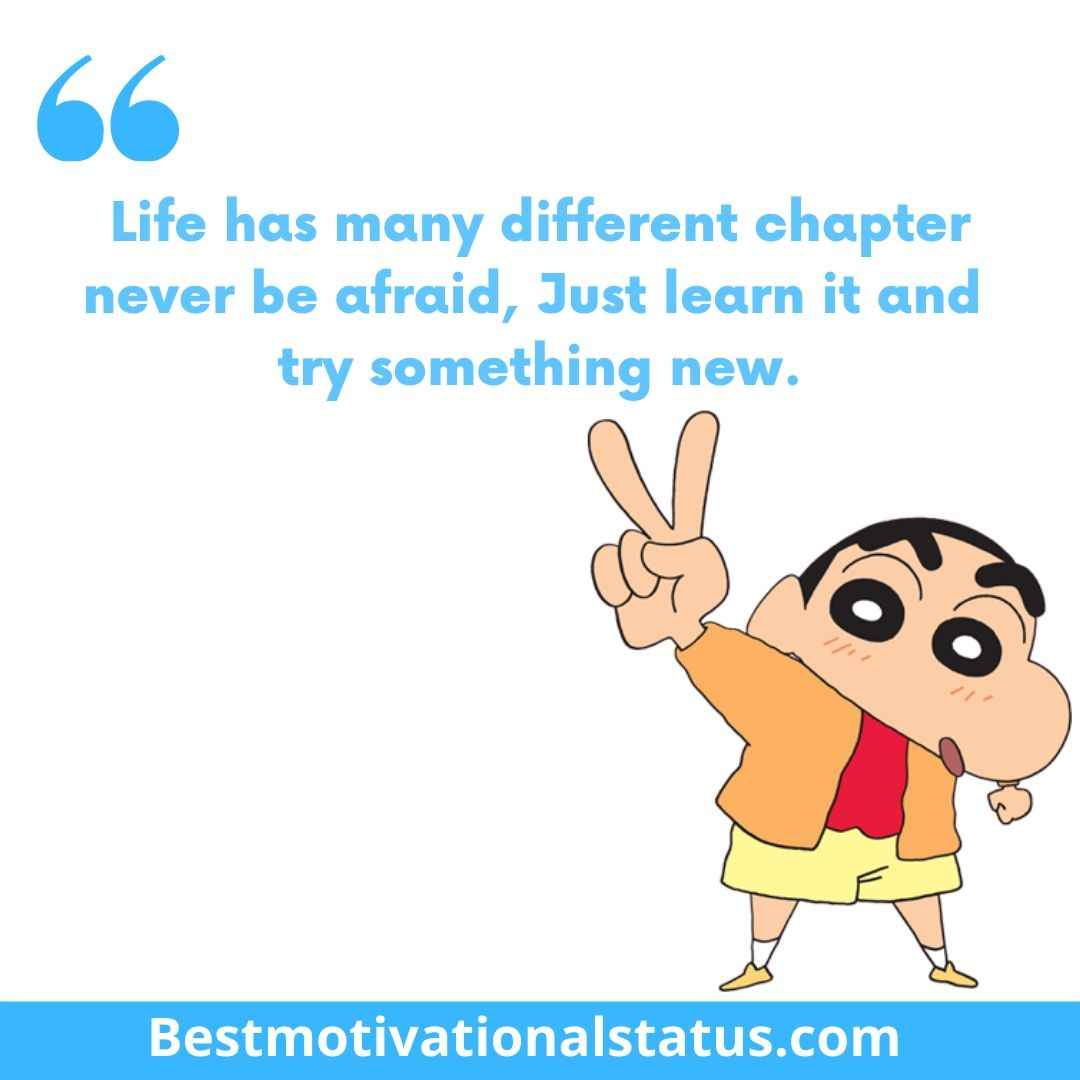 Shin Chan comedy Quotes