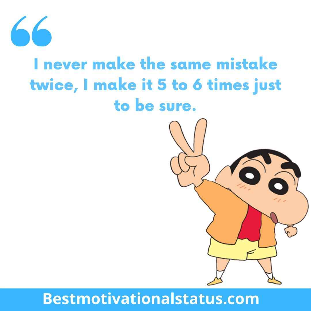 Shin Chan funny Quotes