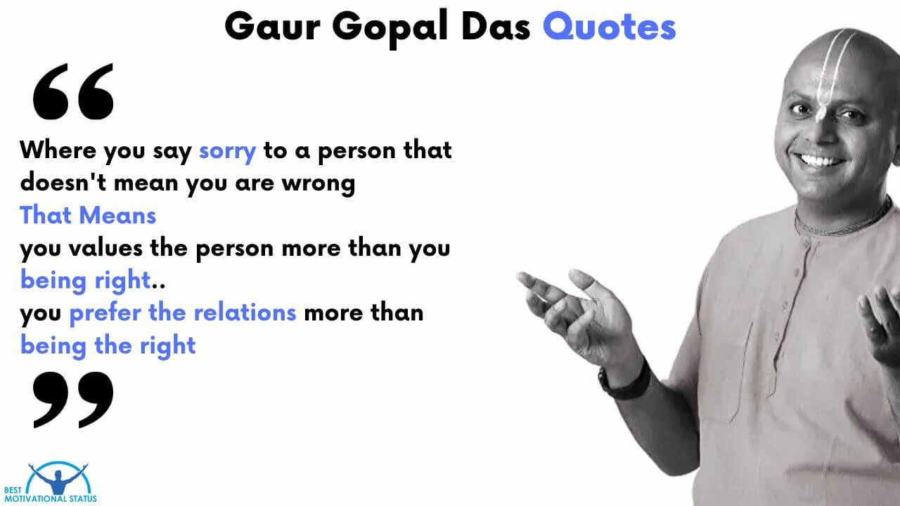 Best Gaur Gopal Das Quotes