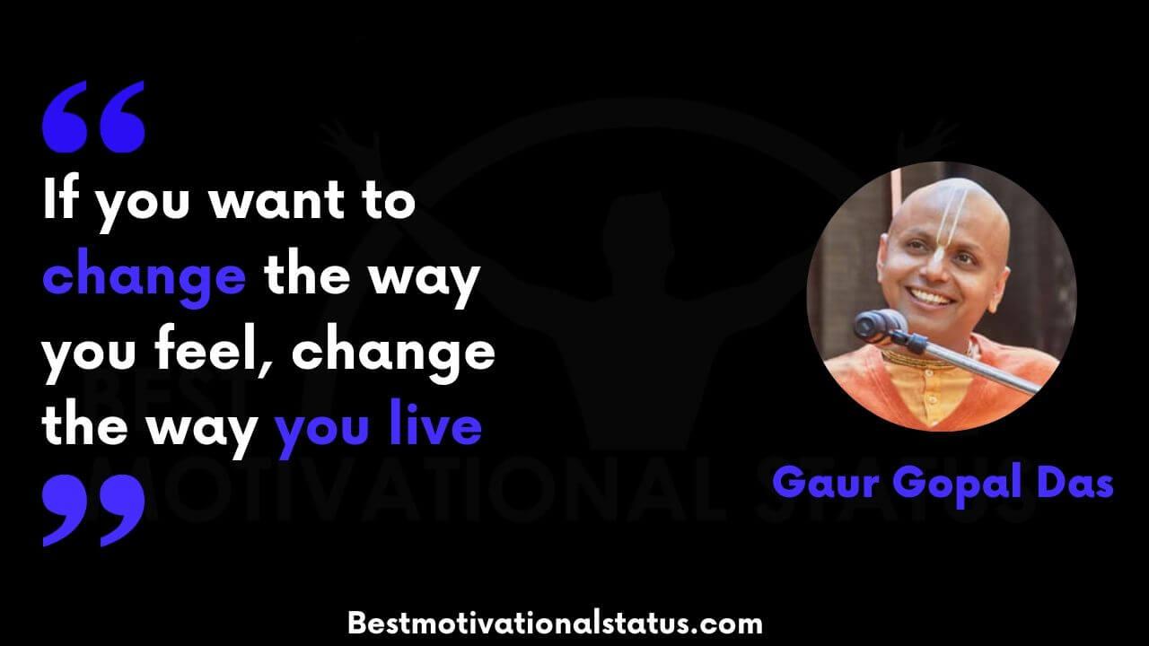 Gaur Gopal Das quotes in english
